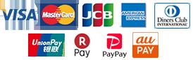 お支払い方法 クレジットカード
